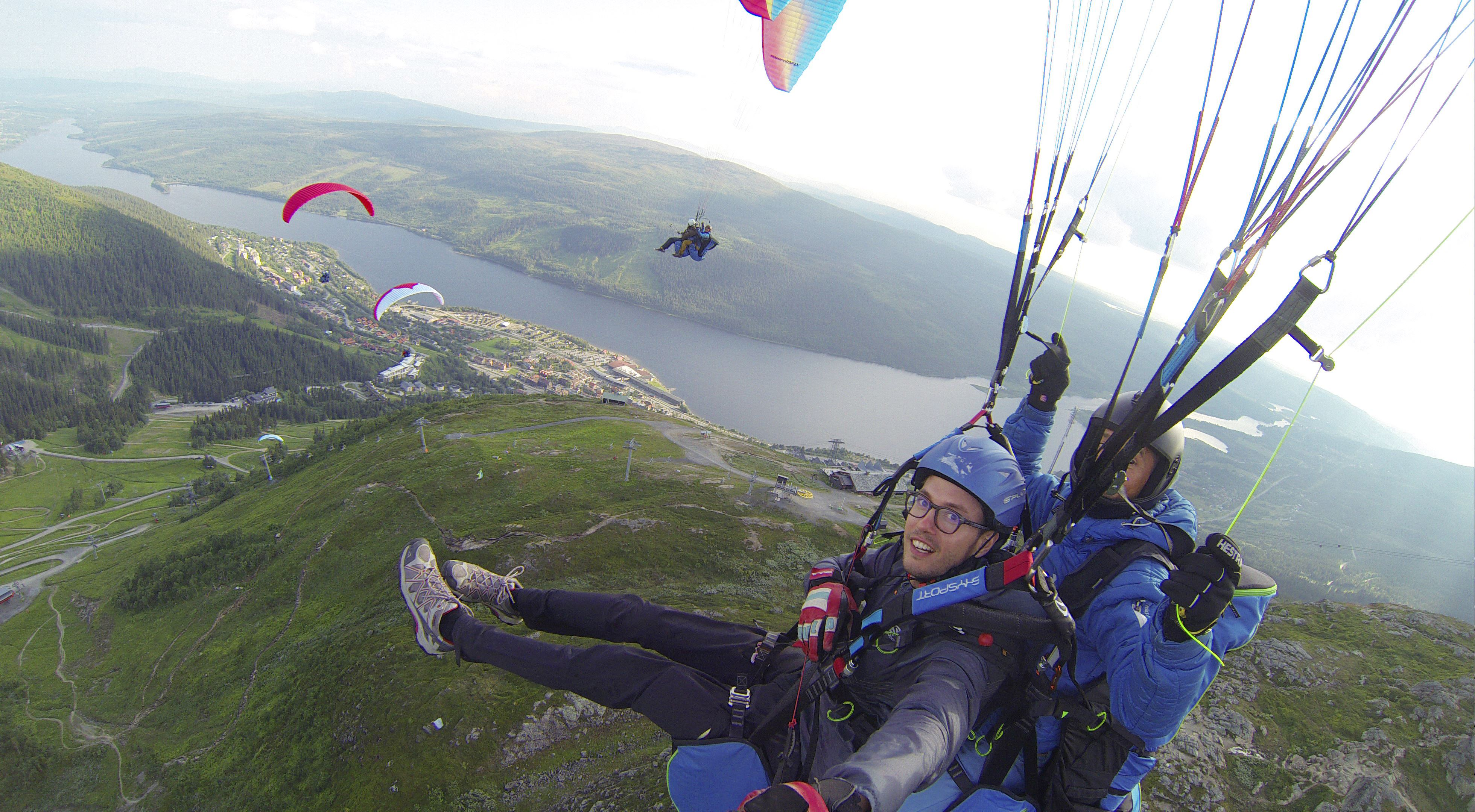 Tandem paragliding - 2 hours