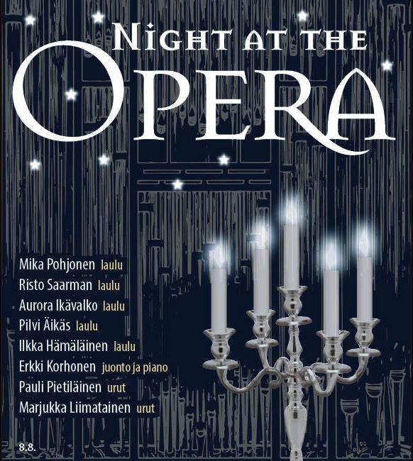 Kansainvälinen Urkuviikko | Night at the Opera 8.8. klo 19
