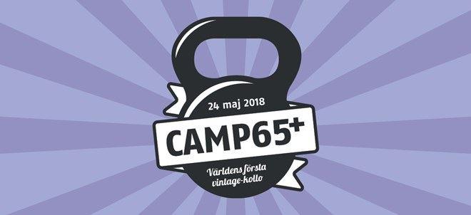 Camp 65+ Världens första vintage-kollo