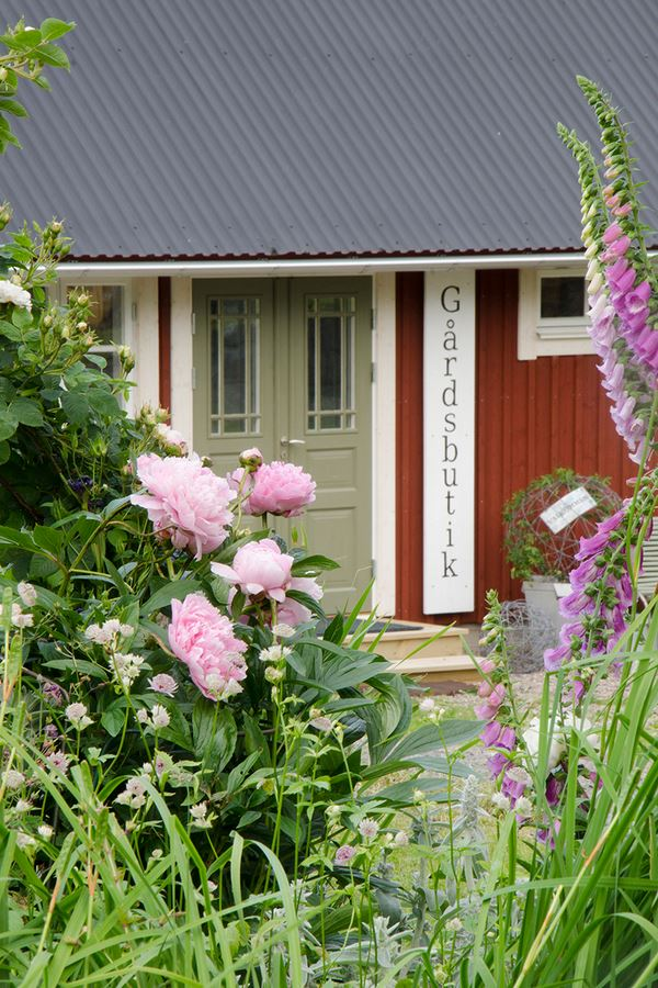 Öppen trädgård på Högagärde fårgård