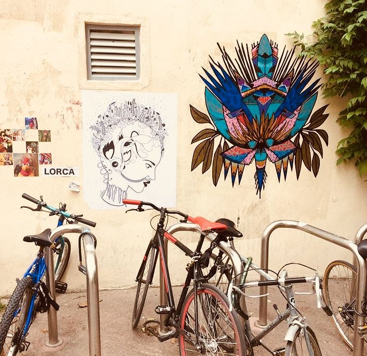 Montpellier Street Art with UrbanBike City Tour