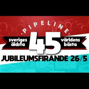 Pipelines 45-årsjubileum