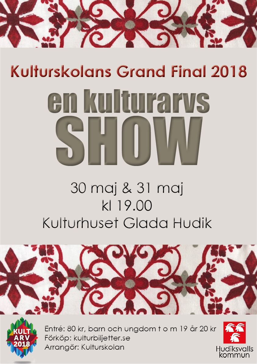 Grand Final 2018 - EN KULTURARVSSHOW