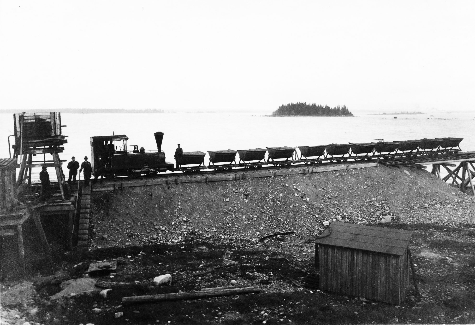 © Järnvägsmuseet, The train hall and steam train trips