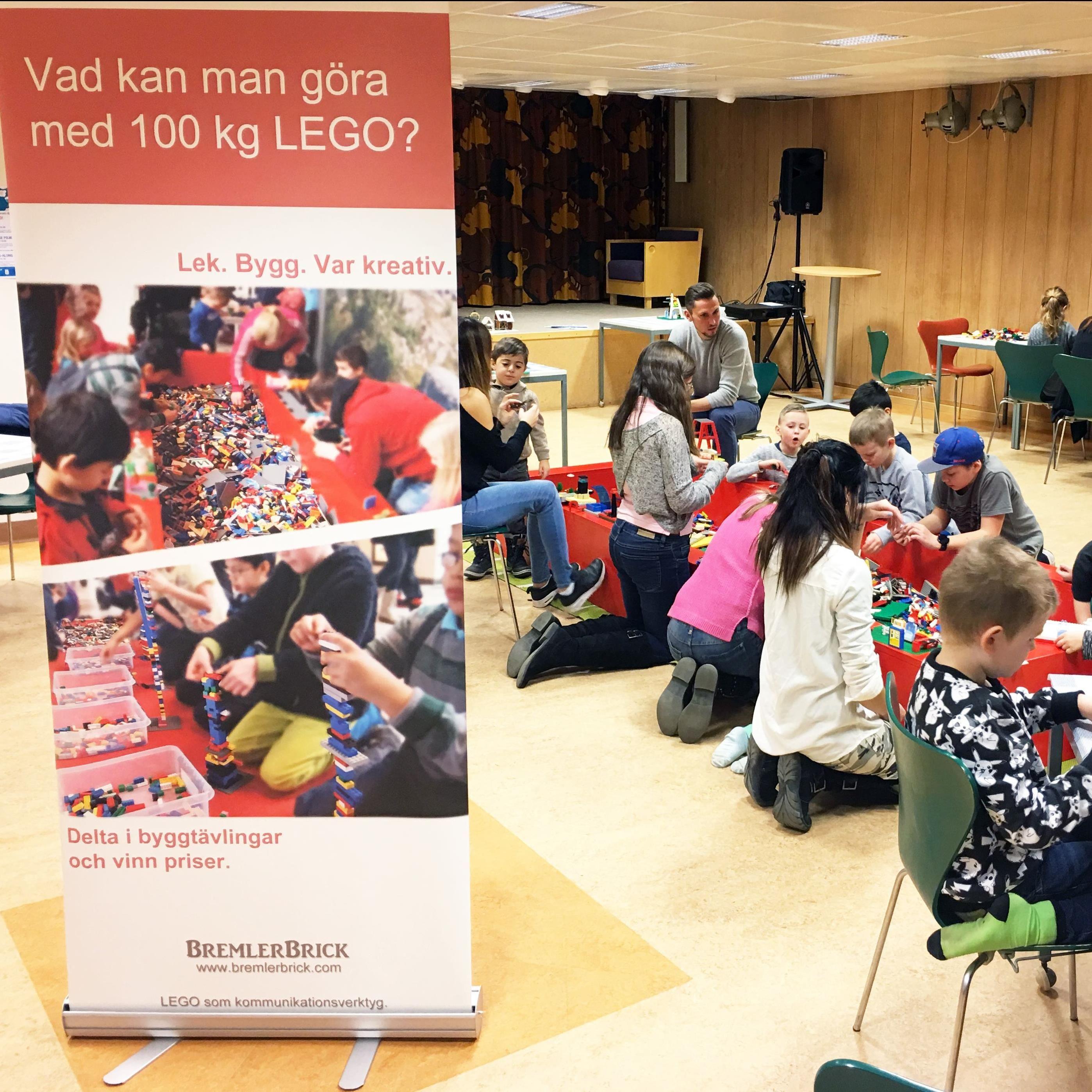 SOMMARLOV - Legoevent i Nässjö stadsbibliotek