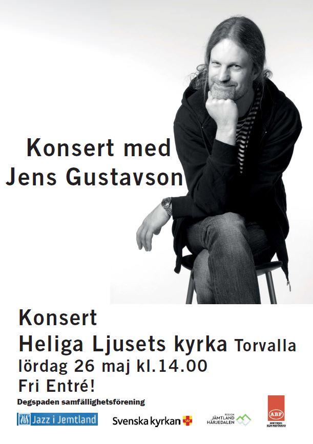 © Degspaden samfällighetsförening, Concert with Jens Gustavson