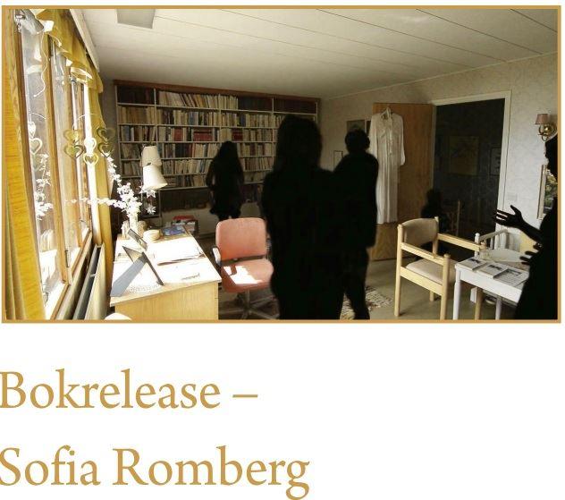 Bokrelease party: Sofia Rombergs bok