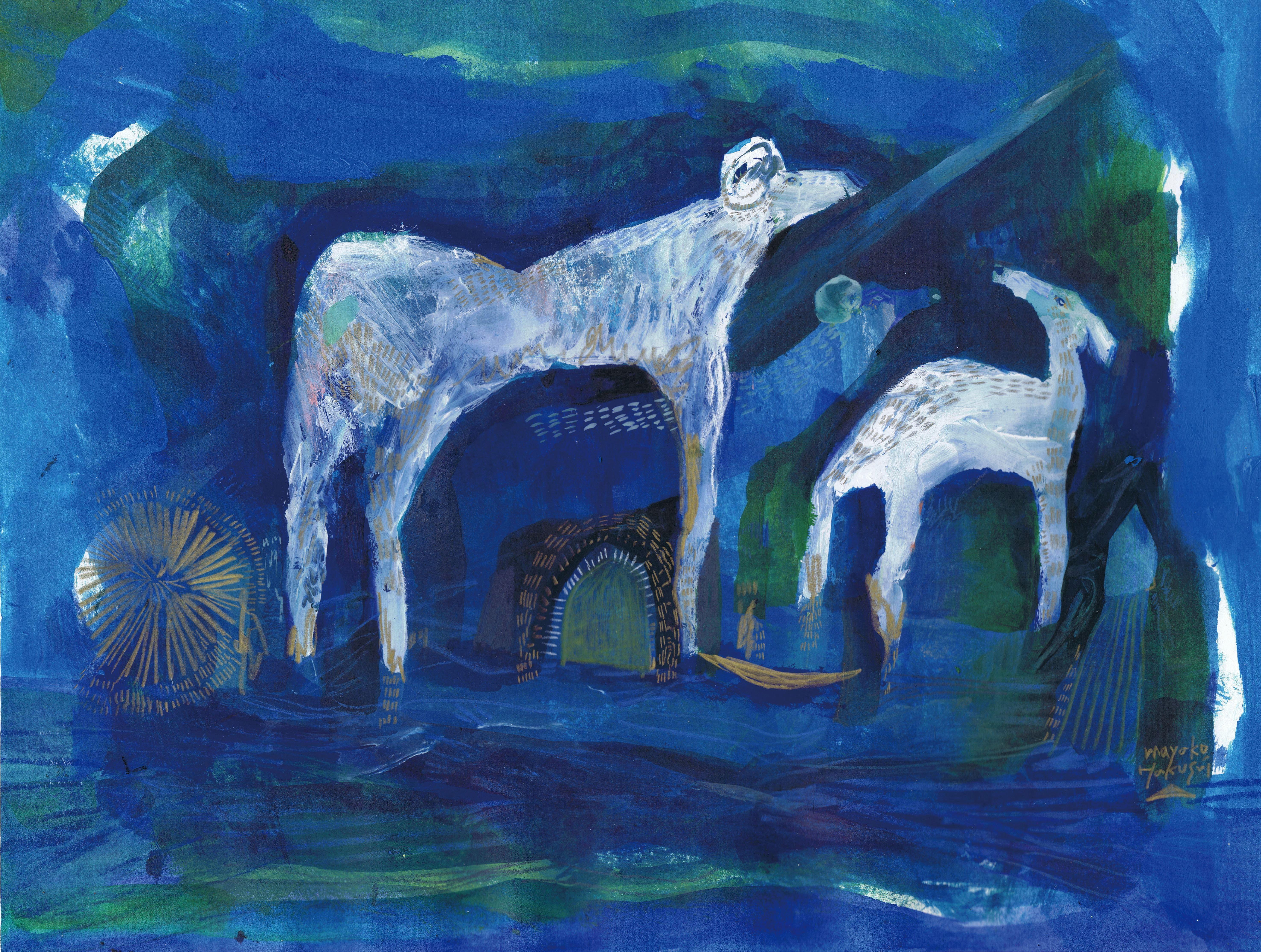 BLUE/BY THE WATER/PRAYER 14.-21.6.2018 | Ateljee Asta Pulkkinen