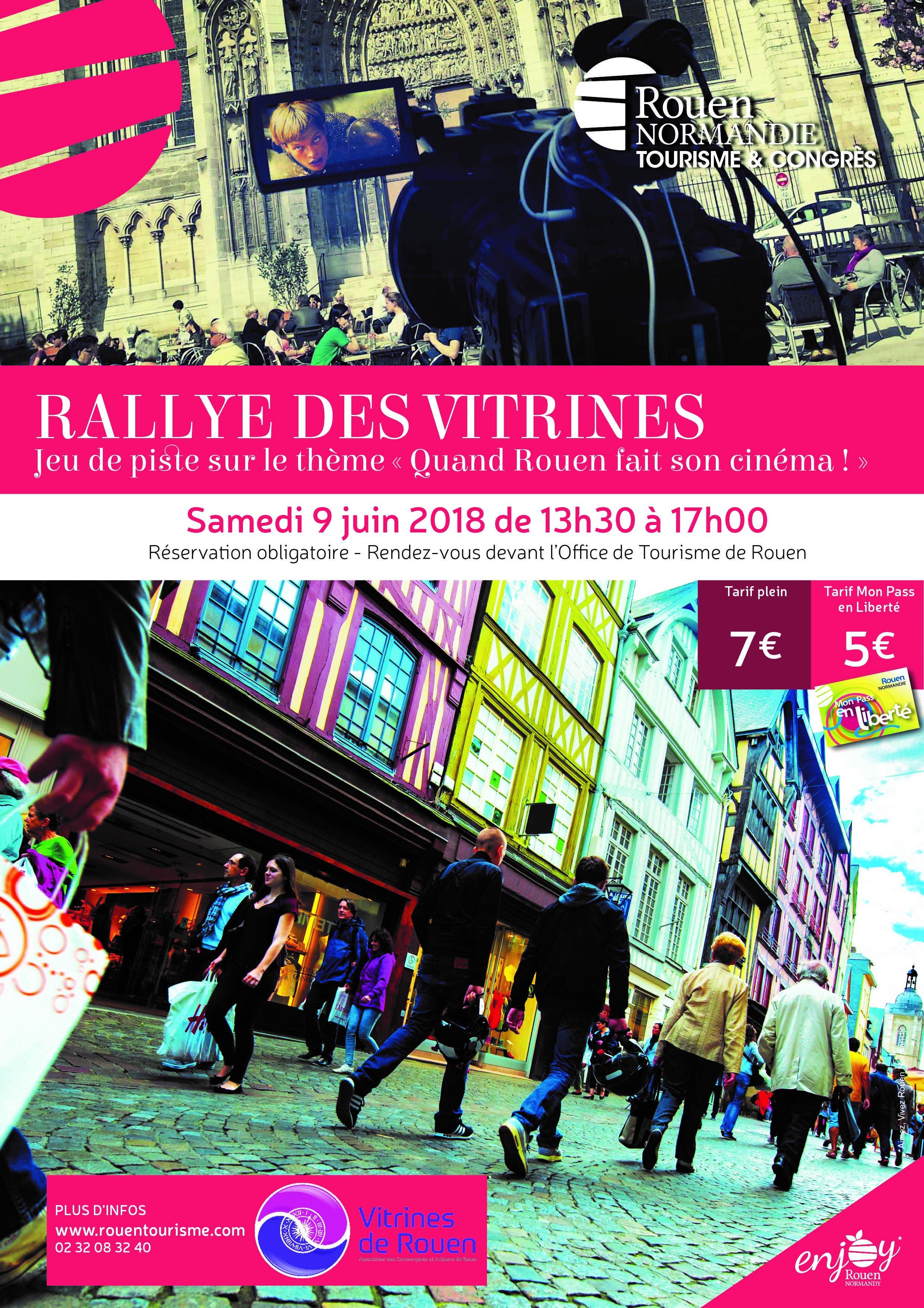 Rallye des vitrines, samedi 09 juin 2018