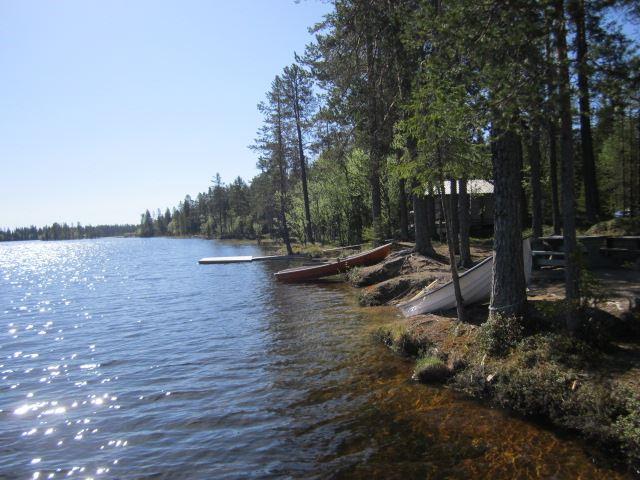Kerstin Andersson,  © Malå kommun, Fiskepremiär i Laggträsket