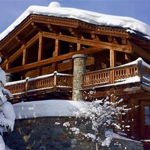 6 rooms 10 people ski-in ski-out / CHALET LES SORBIERS (Mountain of Dream)