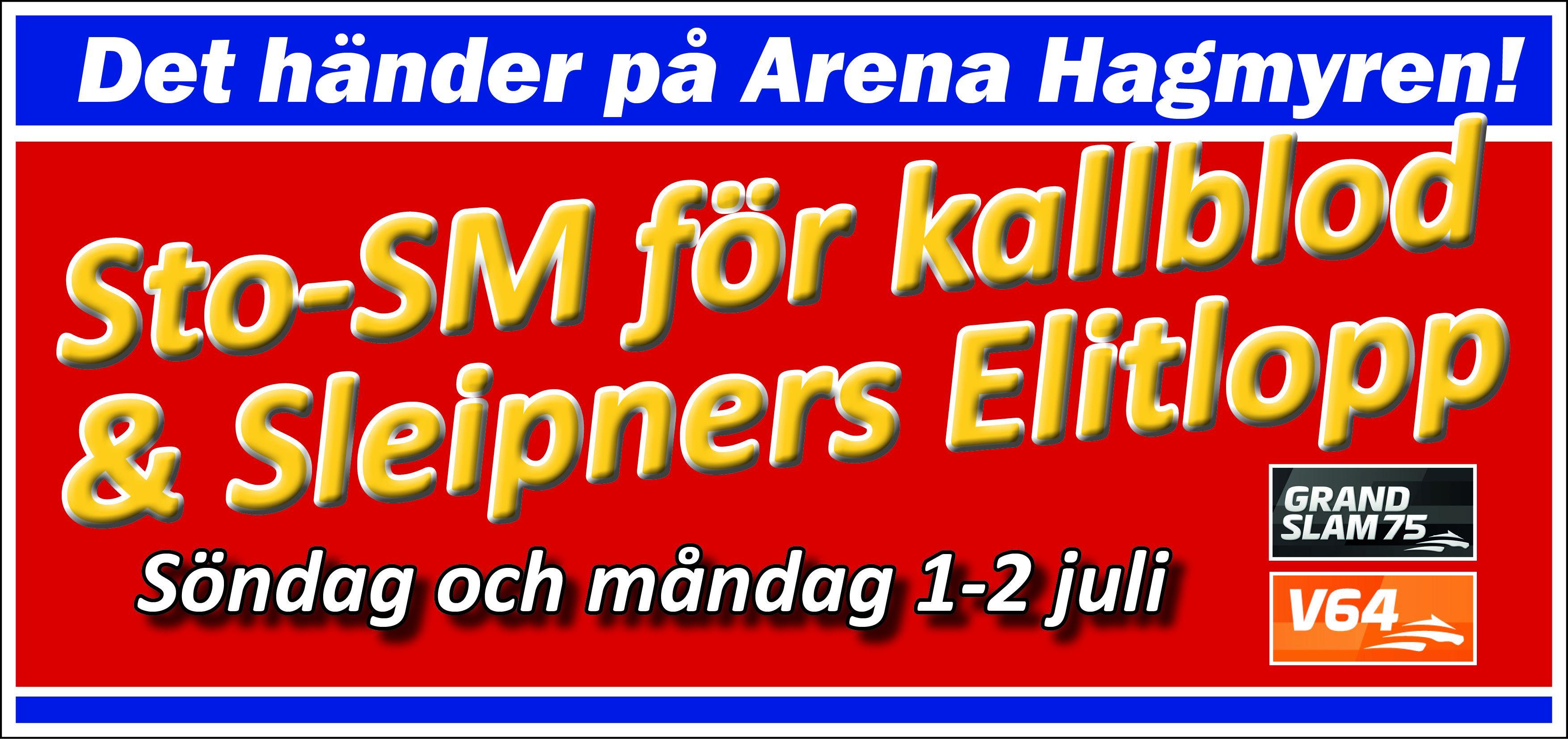 © Arena Hagmyren, Dags för Sleipnerdagarna på Arena Hagmyren!