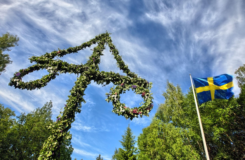 Midsommarfirande i Vännäsby