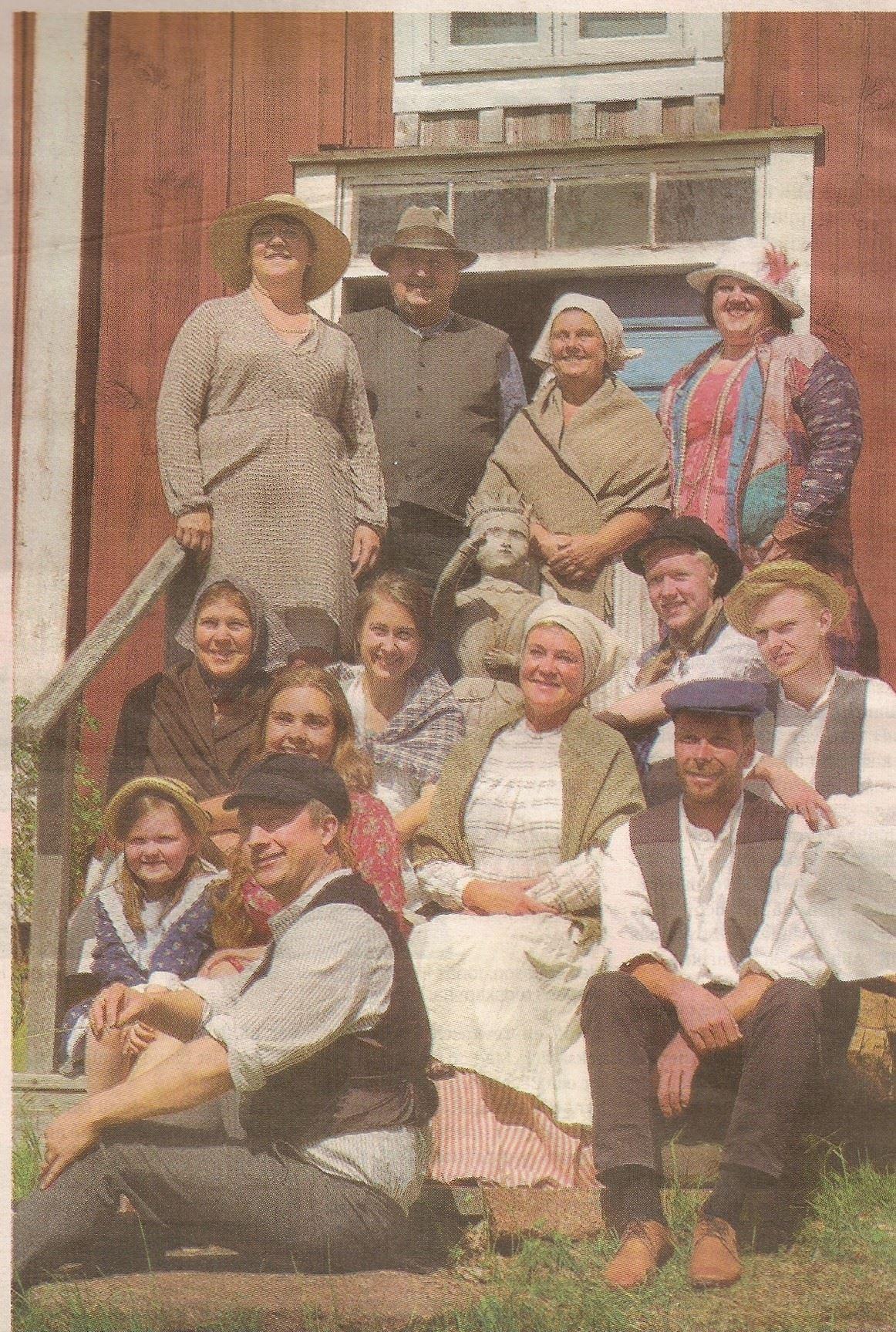 Teater: Gefinas Krona på Dånö hembygdsmuseum