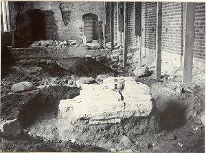 Anders Roland, Arkeologisk utgrävning på Klostret
