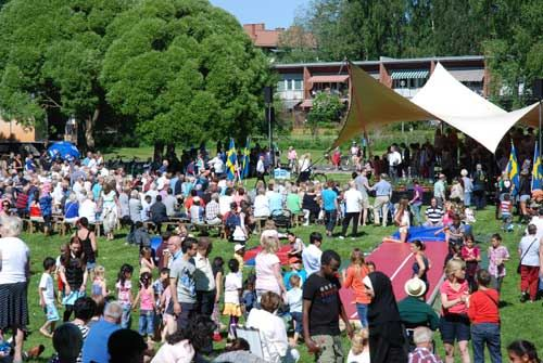 Nationaldagsfirande i Sandviken