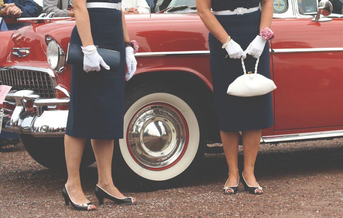 Classic Car Week - Classic Lady