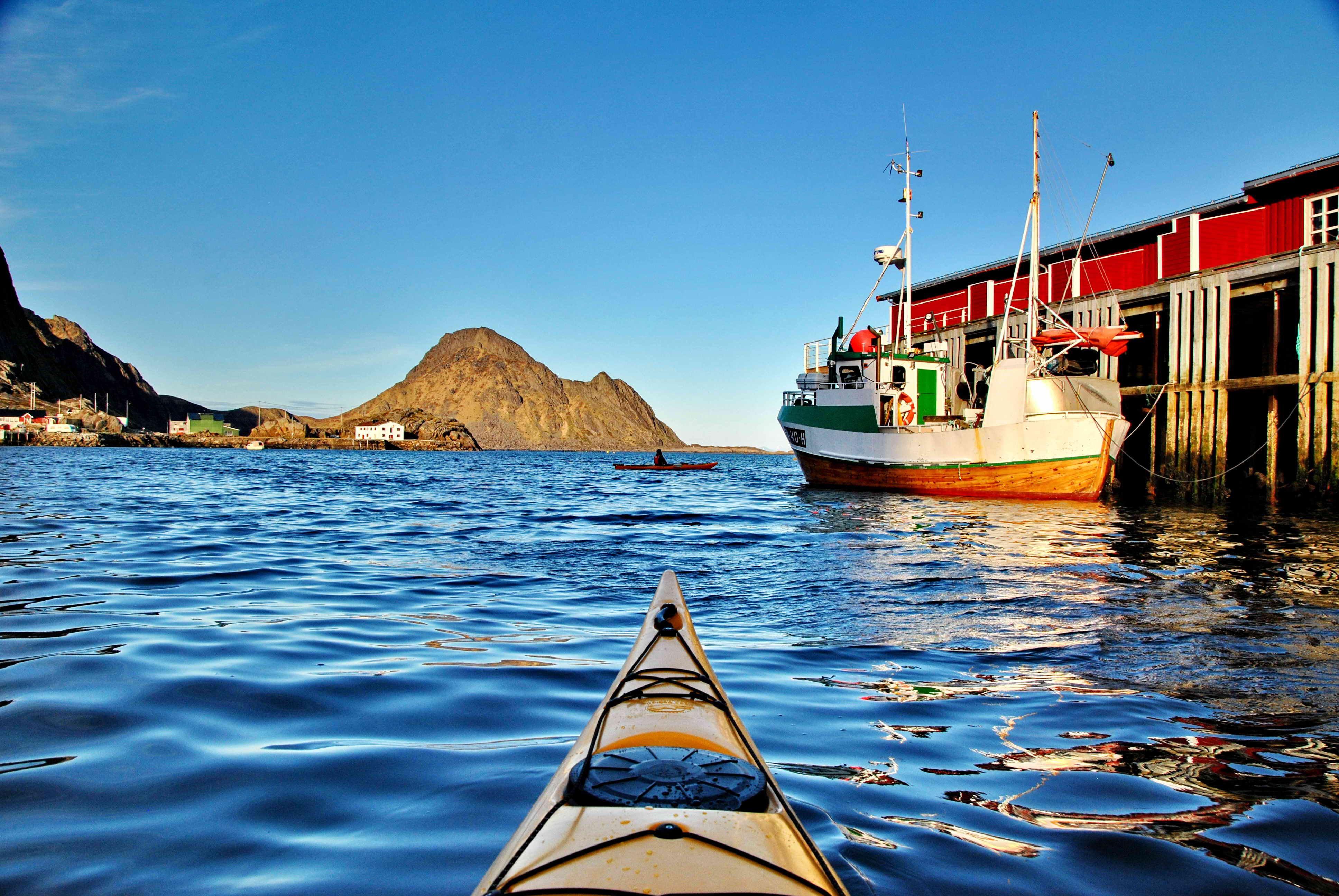 Full day kayak - Northern Explorer