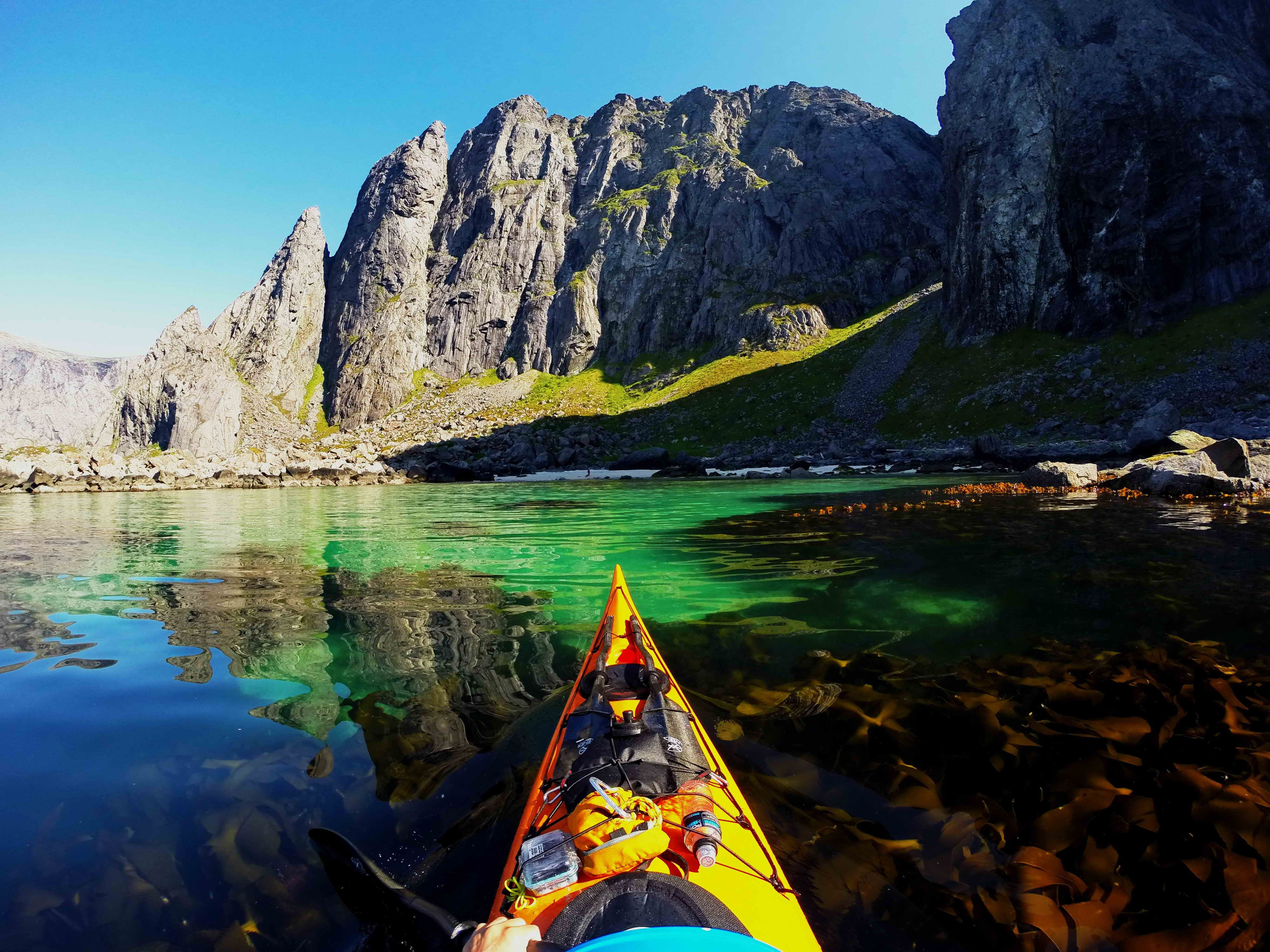 Full day combo kayak and Rappel - Northern Explorer