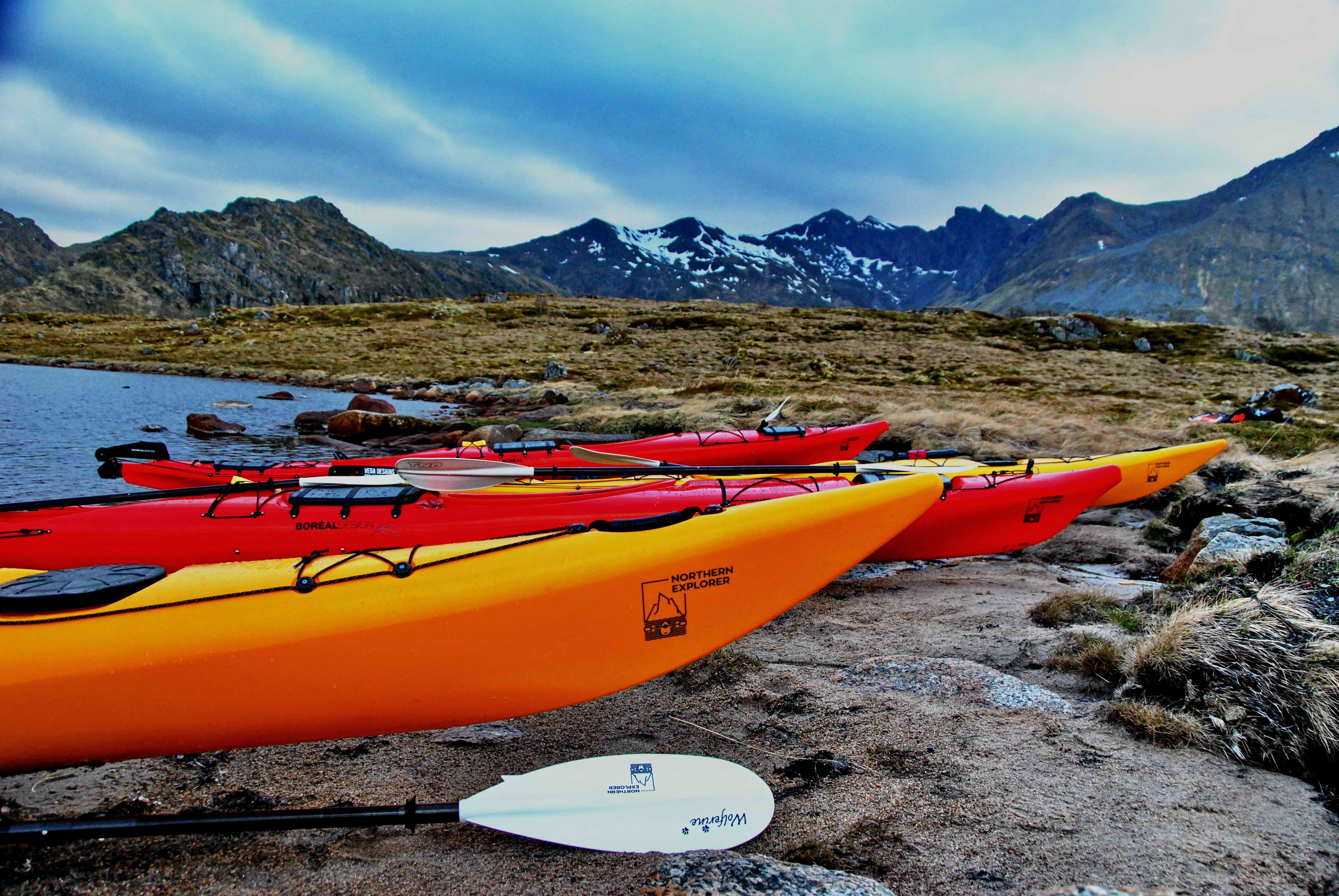 Multi day Tour Kayaking. Trekking and Rappel - Northern Explorer