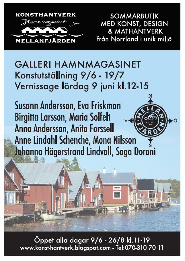 Galleri Hamnmagasinet Mellanfjärden, Hälsingland,  © Galleri Hamnmagasinet Mellanfjärden, Hälsingland, Galleri Hamnmagasinet Mellanfjärden, Hälsingland