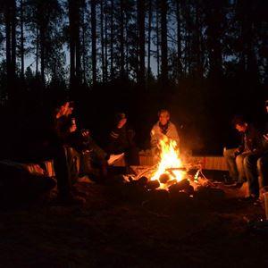 Stuga i skogen uthyres ForRest boende Hälsingland