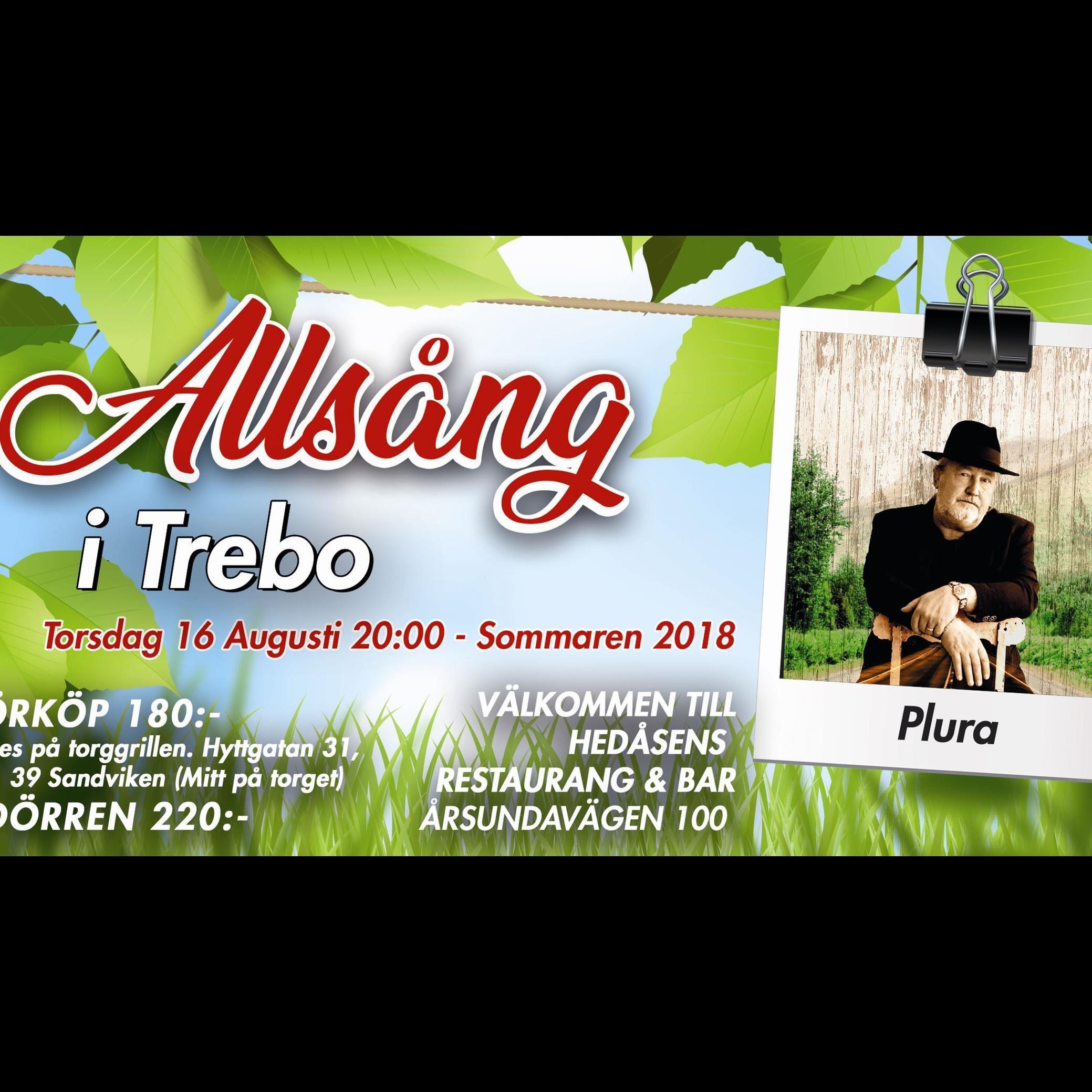 Allsång i Trebo  -Midnight Express & Plura