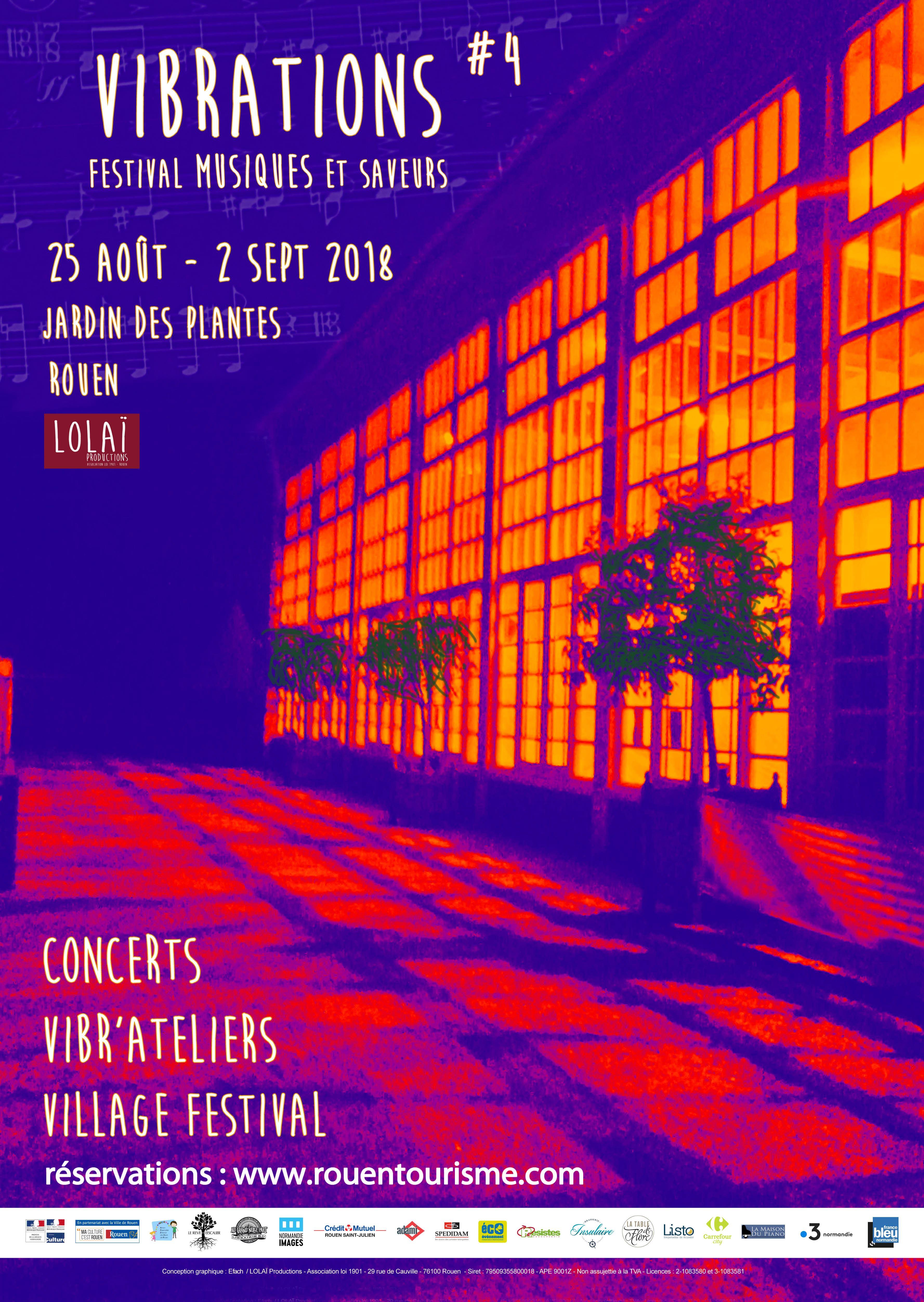 FESTIVAL VIBRATIONS : Joulik (musique du monde), jeudi 30 août