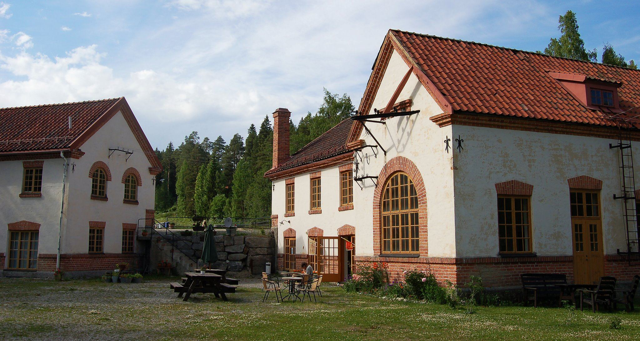 Franshammar Old Power Station & Hostel
