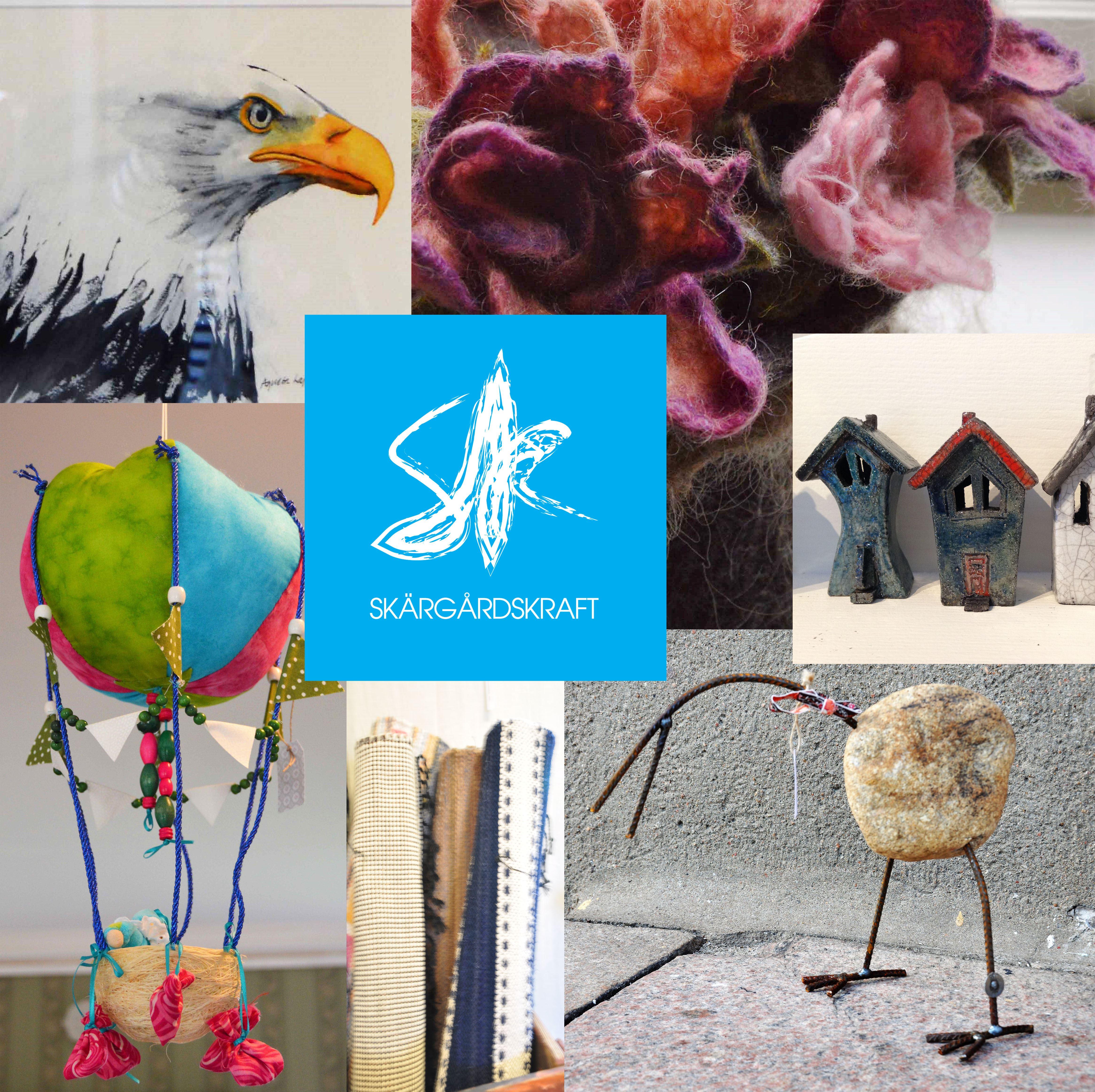 Utställning - Skärgårdskraft Konst- och hantverksförening