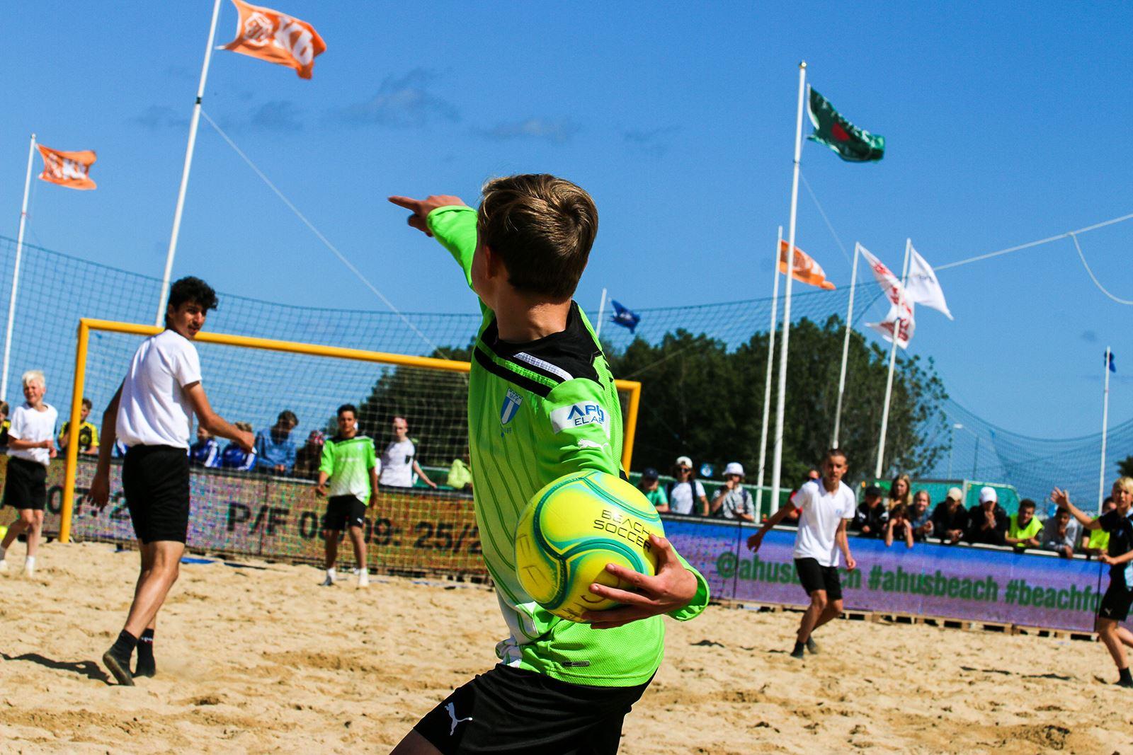 Veckoband till Åhus Beachfotboll