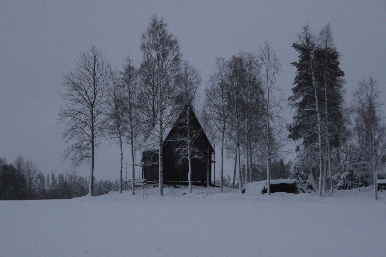Medeltid på Oklagård, vinter -18 -19