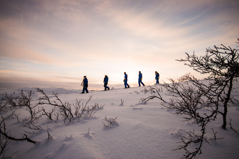© Snowhotel Kirkenes, SnowhotelKirkenes - Snowshoe walking