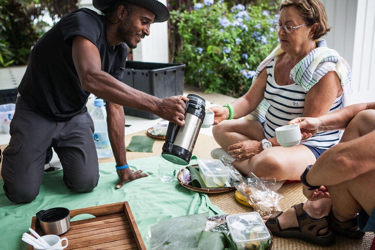 Saint-Pierre: Ausflug im Ochsenkarren