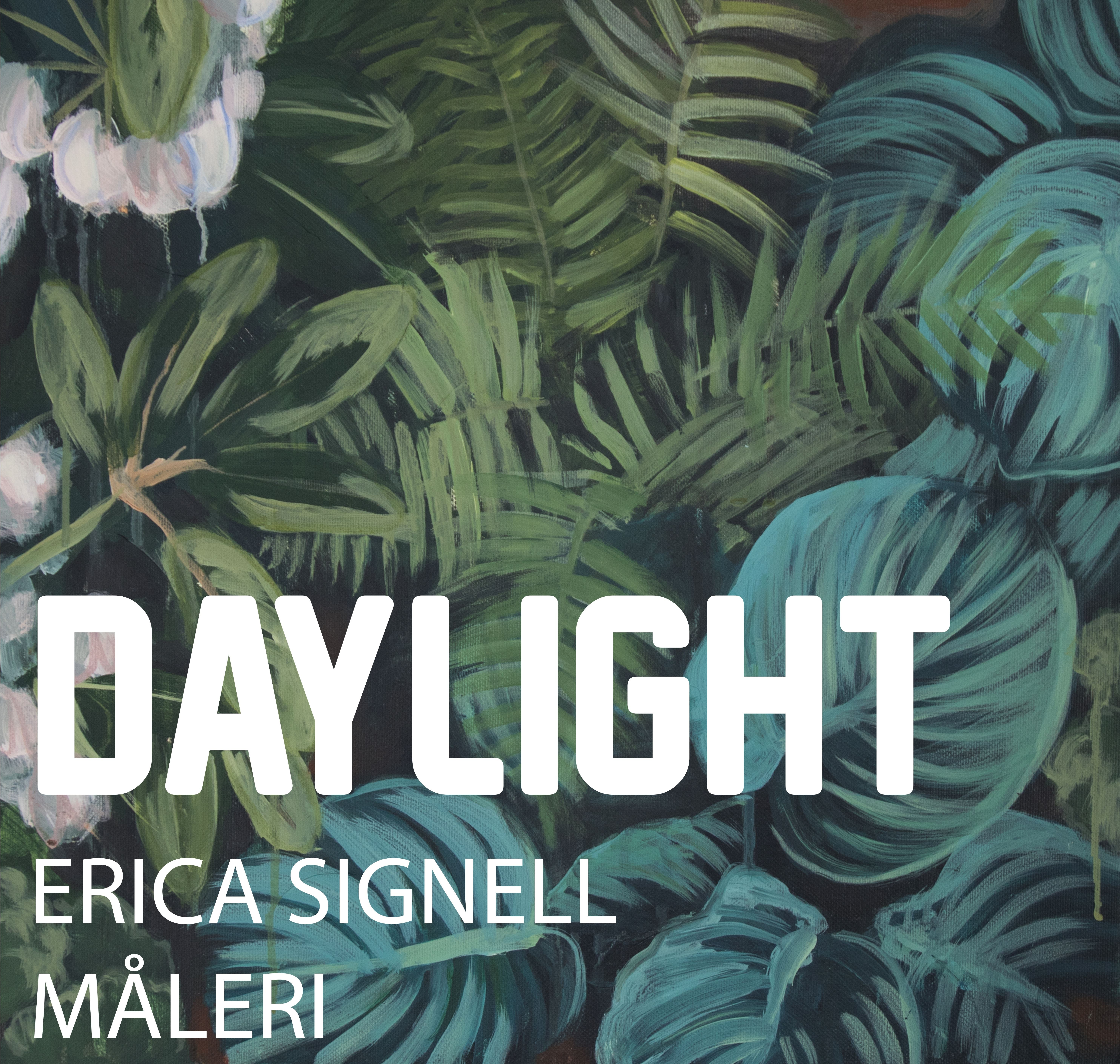 """Art exhibition: """"Daylight"""" in the Lemland library"""