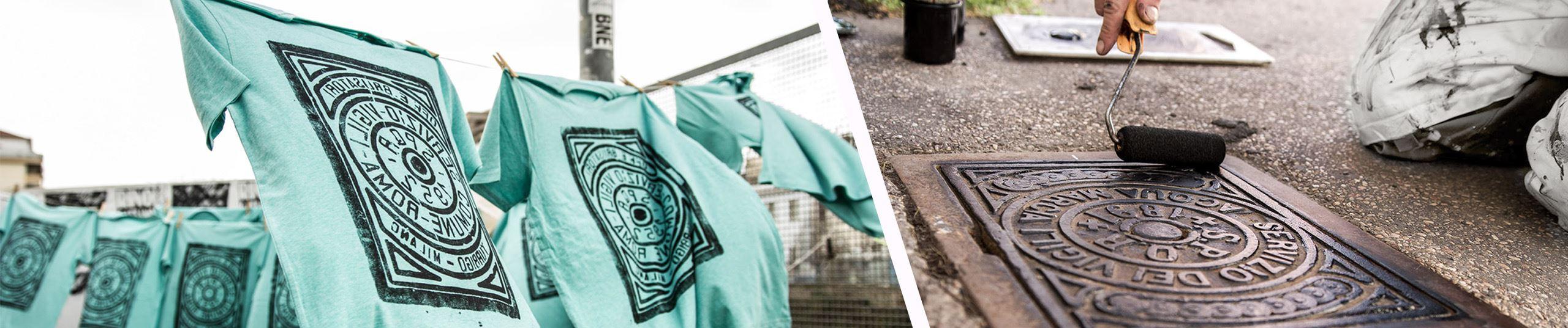 Ifö Center,  © Ifö Center, Streetprinting - ditt avtryck från staden