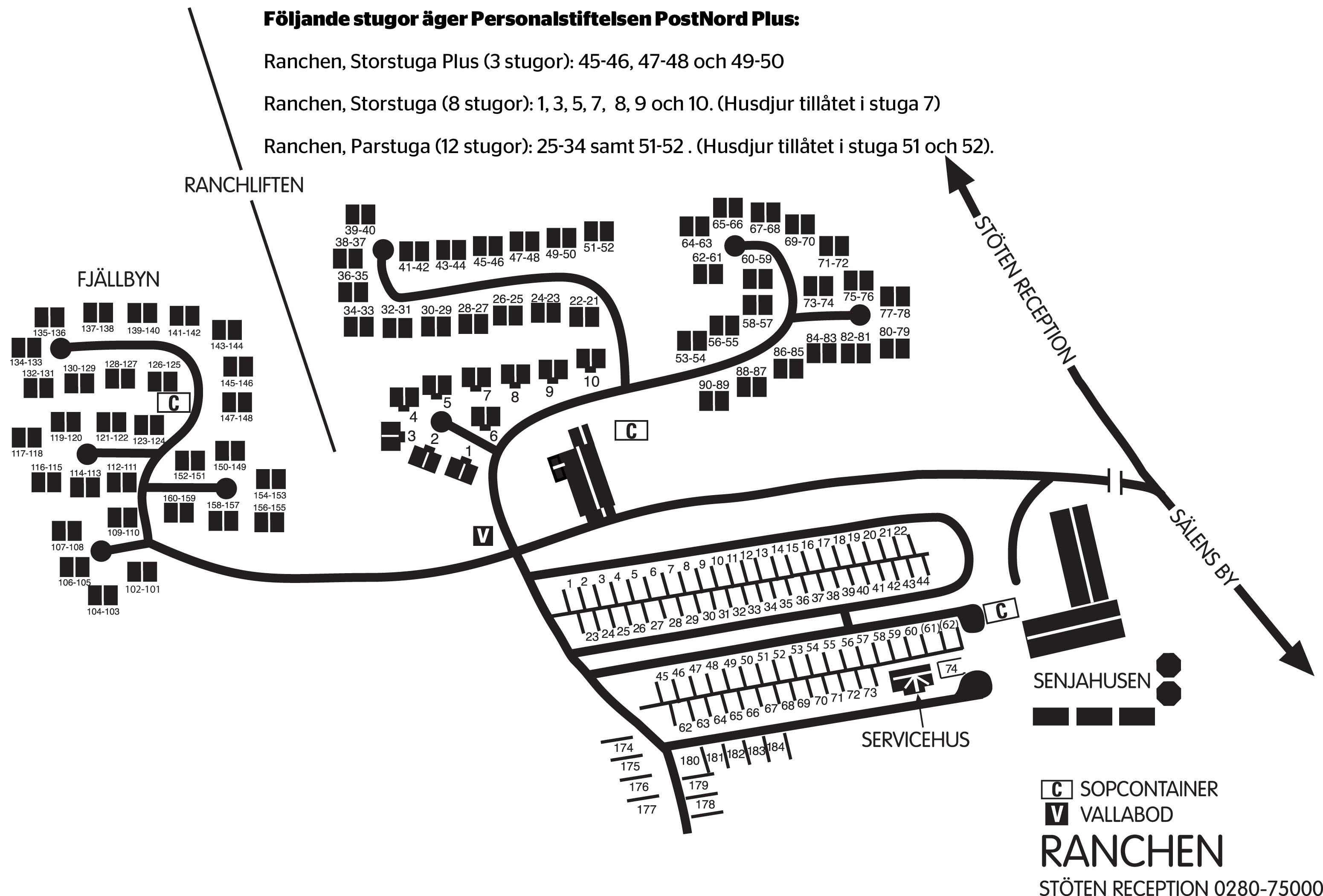 Sälenhornet Resort Ranchen Storstuga Plus