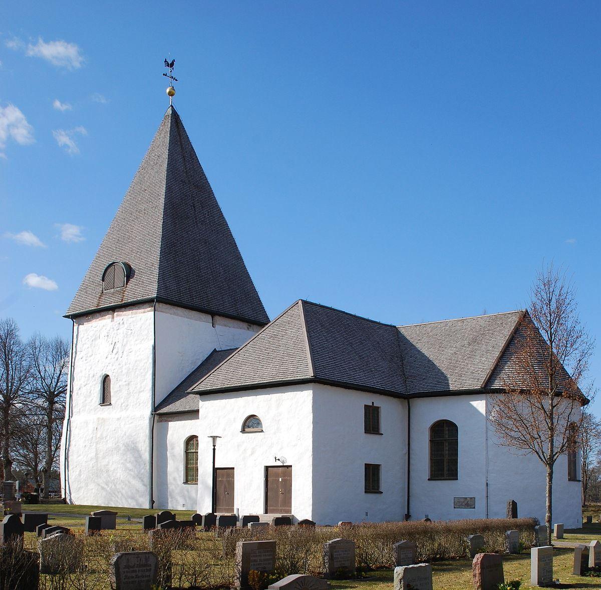 Wikipedia, Bergunda church