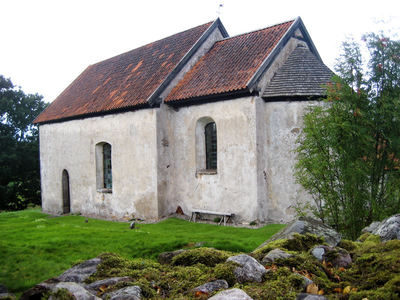 The old church in Hemmesjö