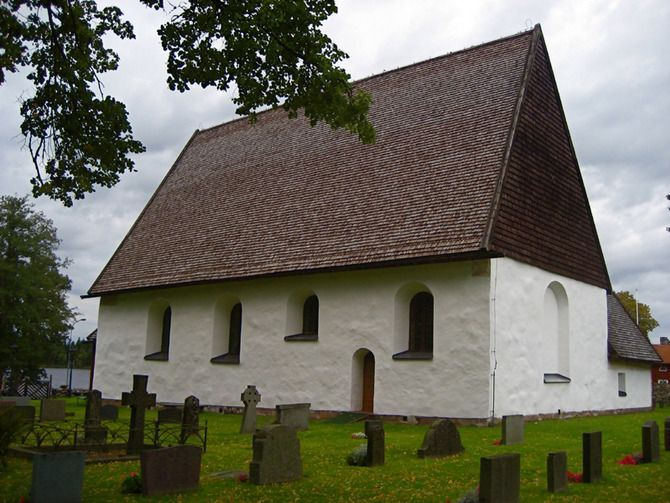 The old church in Sjösås