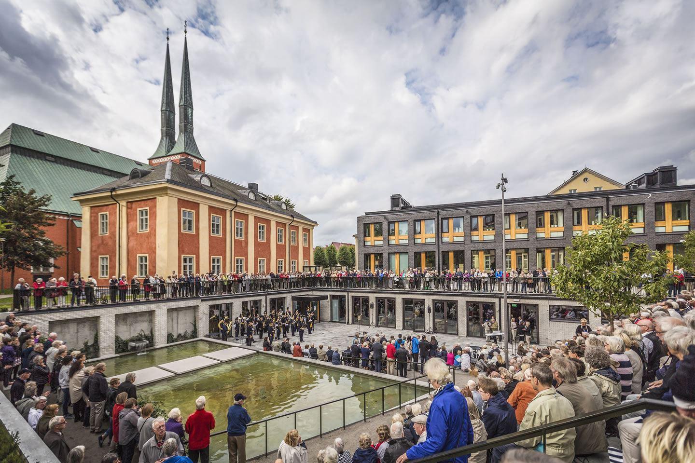 Växjö Cathedral center