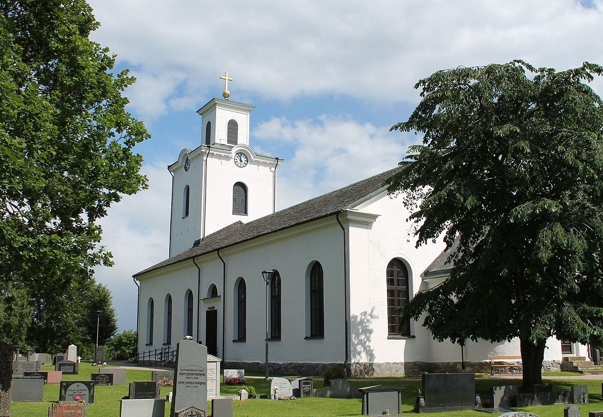Die Kirche in Öja