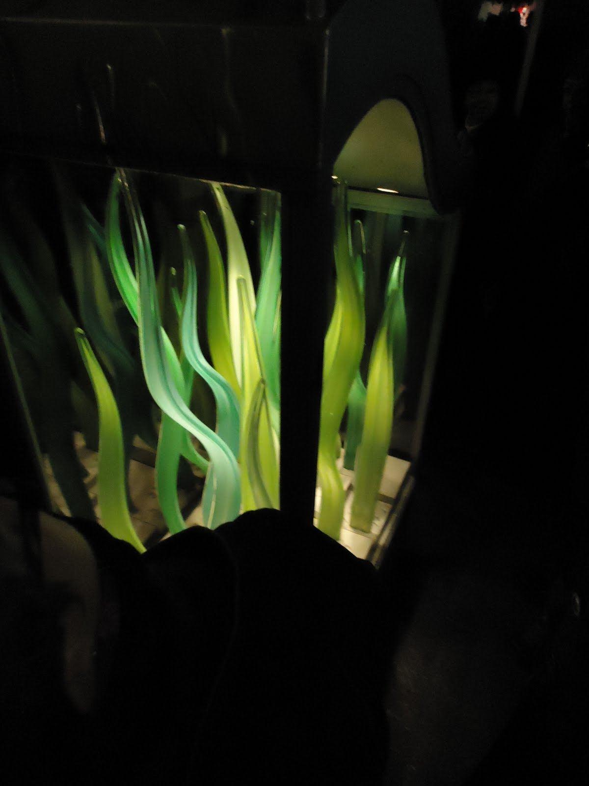 Glaskonst på Sandgärdsgatan