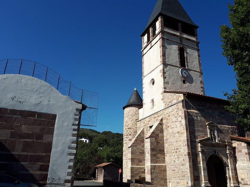 Sur la route des pèlerins départ Saint Jean De Luz