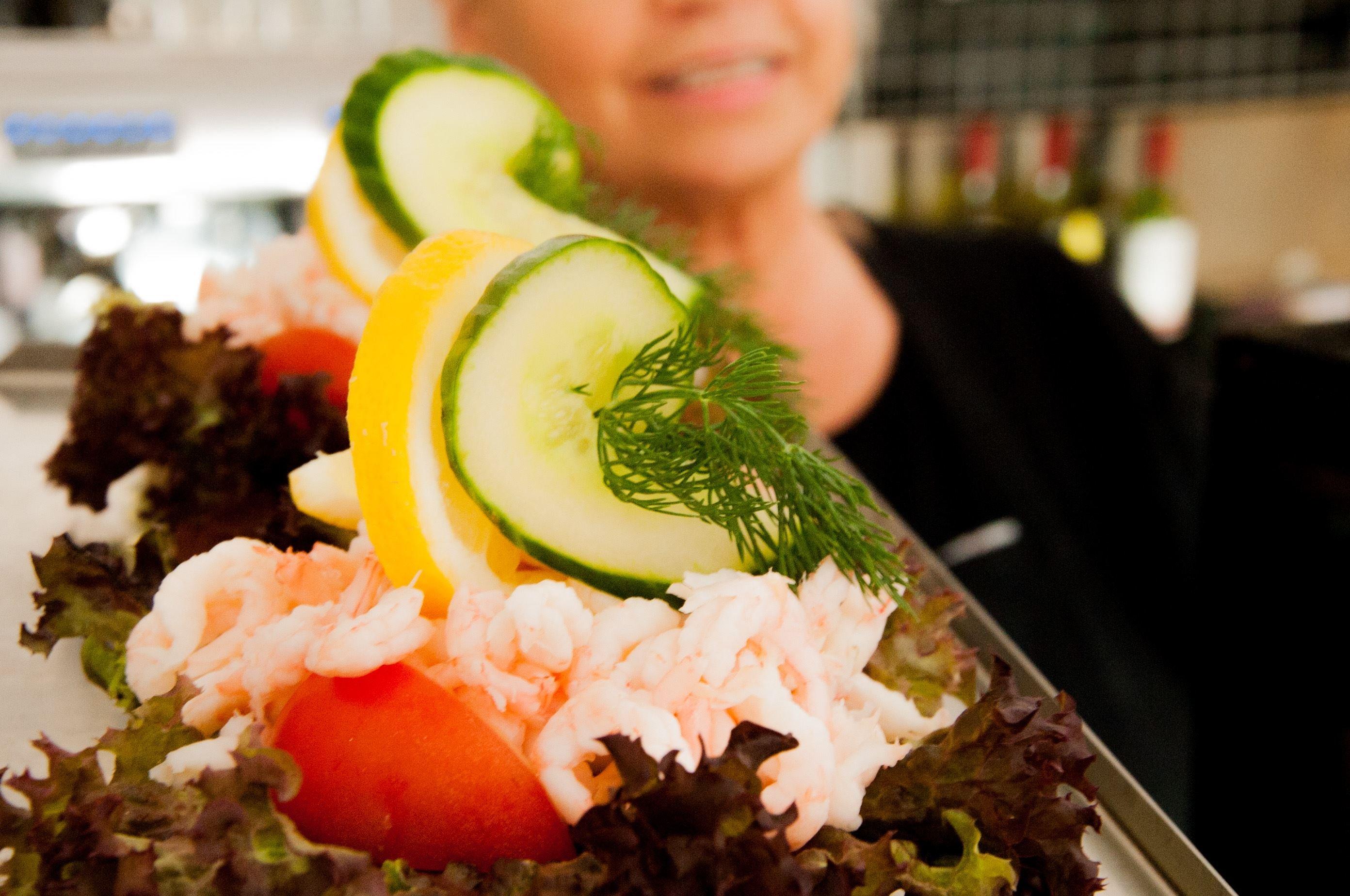 Linda Sjunnesson,  © Visit Blekinge, hemmagjord räksmörgås
