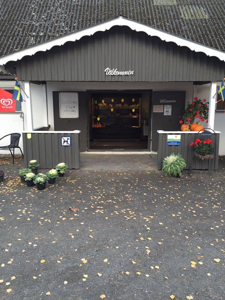 Gårdsbutiken i Lörby - Gemüse und Blumen