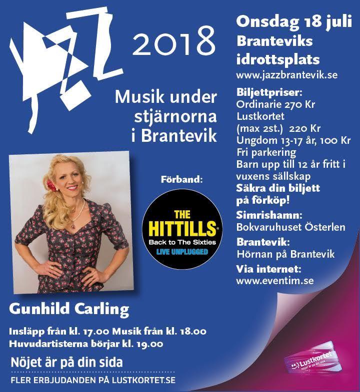 Jazz / Musik under stjärnorna Brantevik: Gunhild Carling