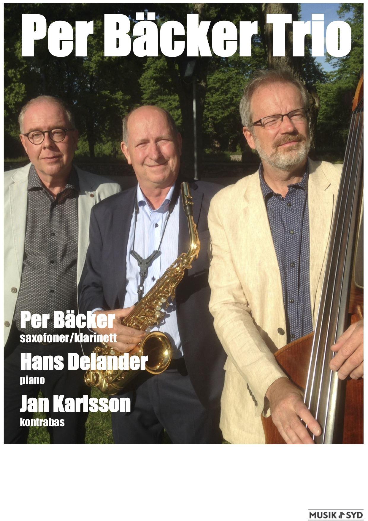 Pre Bäcker Trio - Konsert