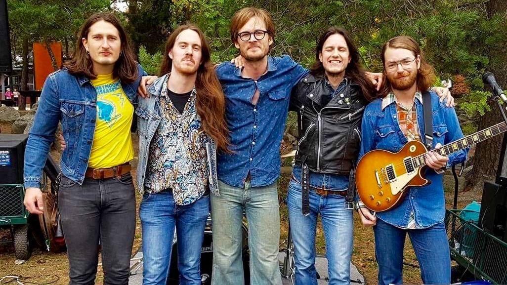 Ramblin' Hearts Band - Paraply Pop Up
