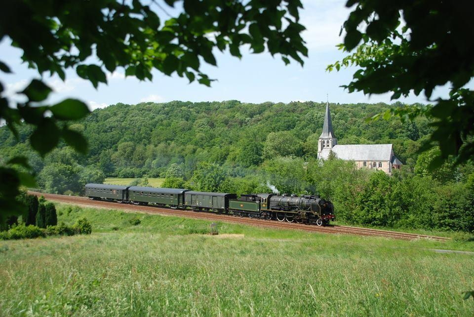 Sorties en train à vapeur pour Dieppe - AOUT 2018